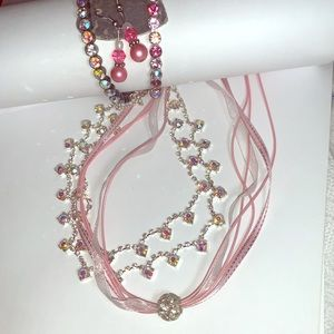 Spring Girlie Sparkling Jewelry Set